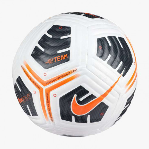 Nike Academy Pro Ball[White/Black/Total Orange][5]