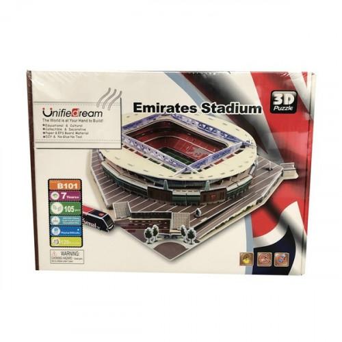 Emirates Stadium 3D Puzzle