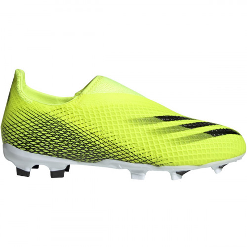 adidas Youth X Ghosted.3 Laceless FG