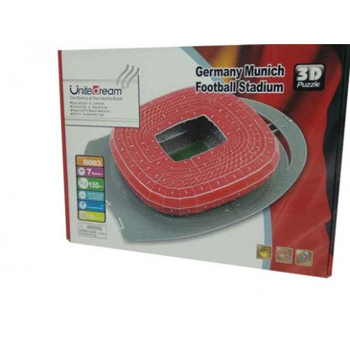 Germany Munich Football Stadium 3D Puzzle