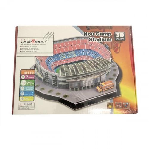 Nou Camp Stadium 3D Puzzle