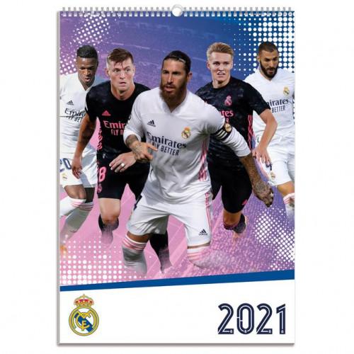 Real Madrid Calendar 2021