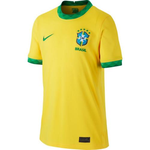 Nike Youth Brasil Home Jersey 20