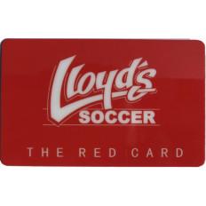 Lloyd's Red Card Gift Card