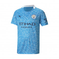 Puma Youth Manchester City Home Jersey 20/21